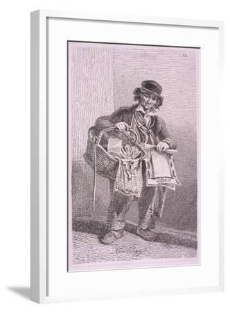 New Elegy, Cries of London, 1819-John Thomas Smith-Framed Giclee Print