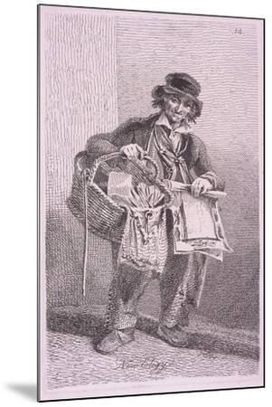 New Elegy, Cries of London, 1819-John Thomas Smith-Mounted Giclee Print
