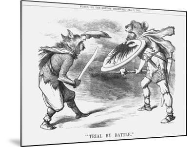 Trial by Battle, 1877-Joseph Swain-Mounted Giclee Print