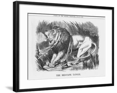 The Red-Tape Tangle, 1888-Joseph Swain-Framed Giclee Print