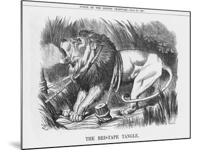 The Red-Tape Tangle, 1888-Joseph Swain-Mounted Giclee Print