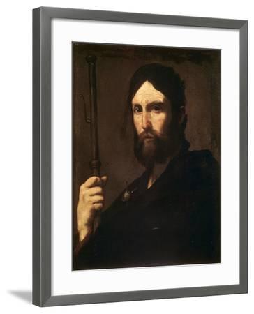 The Apostle Saint James the Great, C1630-C1635-Jusepe de Ribera-Framed Giclee Print