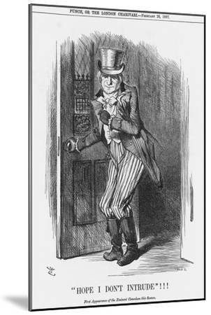 Hope I Don't Intrude!!!, 1887-Joseph Swain-Mounted Giclee Print
