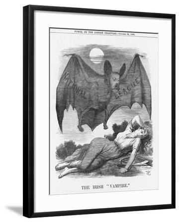 The Irish Vampire, 1885-Joseph Swain-Framed Giclee Print