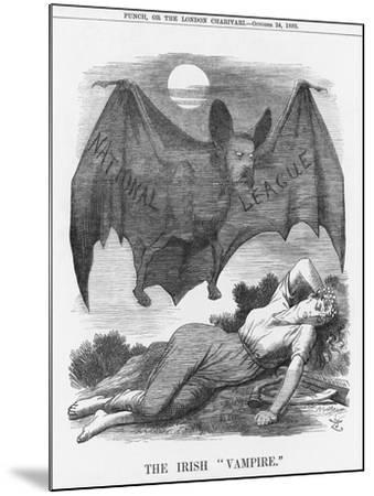 The Irish Vampire, 1885-Joseph Swain-Mounted Giclee Print