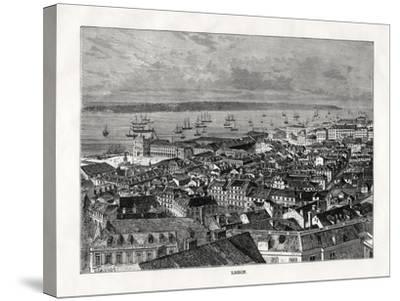 Lisbon, Portugal, 1879- Laplante-Stretched Canvas Print
