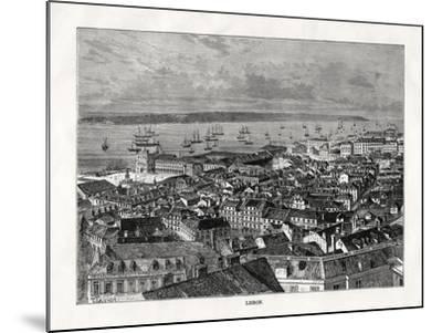 Lisbon, Portugal, 1879- Laplante-Mounted Giclee Print