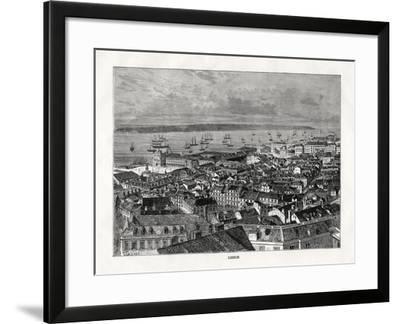 Lisbon, Portugal, 1879- Laplante-Framed Giclee Print