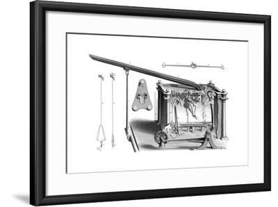 Cotton's Patent Automaton Balance. with Pilcher's Improvements, 1866-Joseph Wilson Lowry-Framed Giclee Print