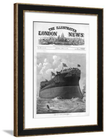 The Cover of the Illustrated London News, 17th April 1875-JR Wells-Framed Giclee Print