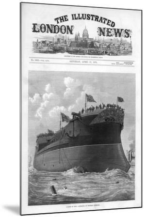 The Cover of the Illustrated London News, 17th April 1875-JR Wells-Mounted Giclee Print