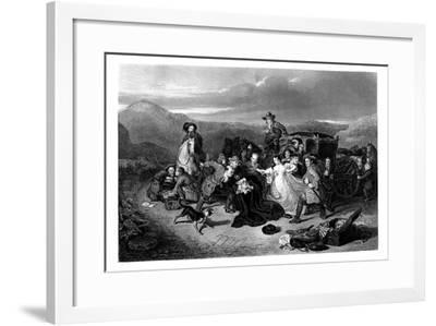 The Murder of Archbishop Sharpe, 1860-K Bourne-Framed Giclee Print