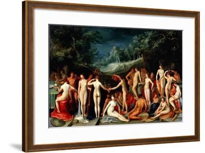 The Love Garden, 1602-Karel Van Mander I-Framed Giclee Print
