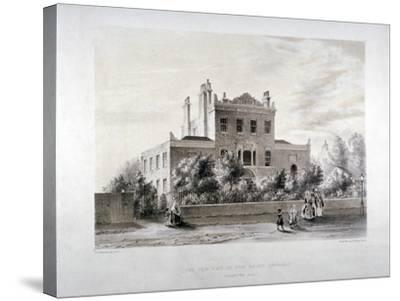 New Asylum for Infant Orphans at Stamford Hill, Stoke Newington, London, C1846-JT Balcombe-Stretched Canvas Print