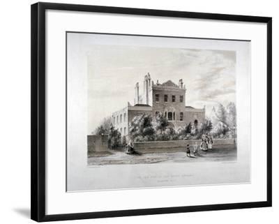 New Asylum for Infant Orphans at Stamford Hill, Stoke Newington, London, C1846-JT Balcombe-Framed Giclee Print