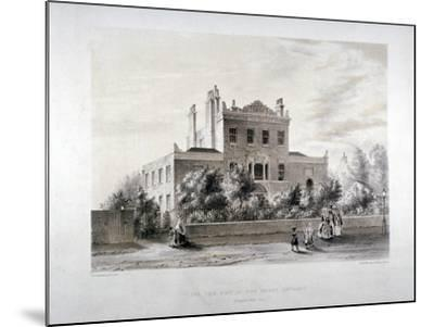 New Asylum for Infant Orphans at Stamford Hill, Stoke Newington, London, C1846-JT Balcombe-Mounted Giclee Print