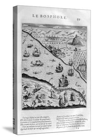 The Bosporus or Bosphorus, 1615-Leonard Gaultier-Stretched Canvas Print