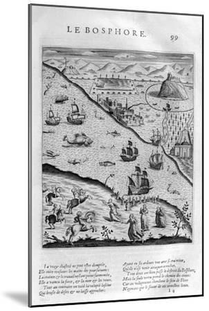 The Bosporus or Bosphorus, 1615-Leonard Gaultier-Mounted Giclee Print