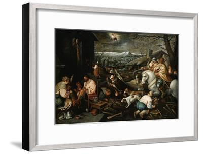 January' (From the Series 'The Seasons), Late 16th or Early 17th Century-Leandro Bassano-Framed Giclee Print