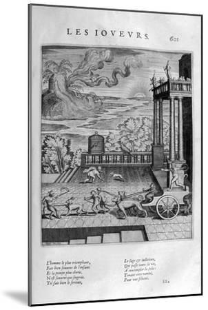 The Players, 1615-Leonard Gaultier-Mounted Giclee Print