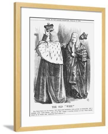 The Old Whip, 1872-Joseph Swain-Framed Giclee Print