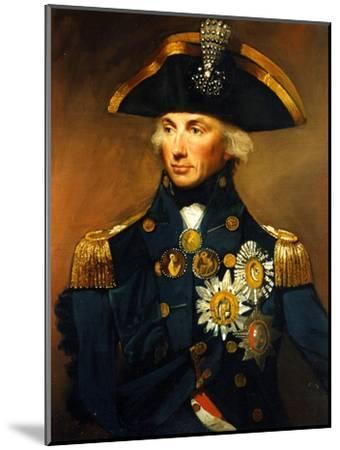 Rear Admiral Sir Horatio Nelson, 1798-1799-Lemuel Francis Abbott-Mounted Giclee Print