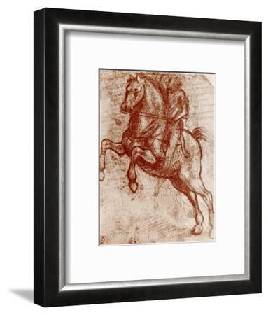 Study of a Knight, 1913-Leonardo da Vinci-Framed Giclee Print