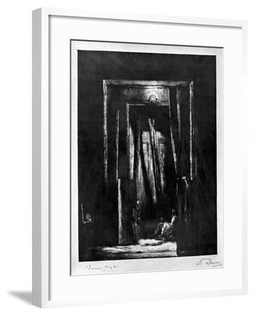 The Sinister Interior, 1930-L Daviel-Framed Giclee Print