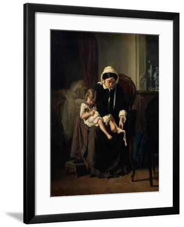 Morning Toilet, 1854-Jules Treyer-Framed Giclee Print
