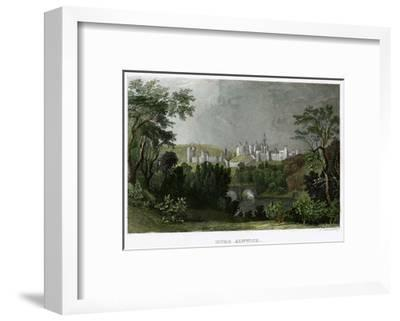 Alnwick Castle, Northumberland, 18th-19th Century-L Kunstvortag-Framed Giclee Print