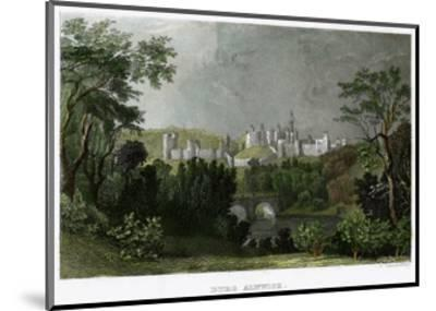 Alnwick Castle, Northumberland, 18th-19th Century-L Kunstvortag-Mounted Giclee Print