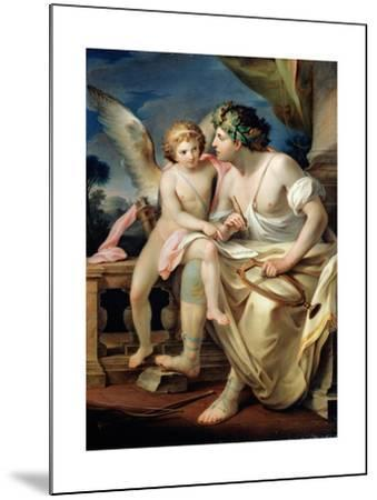 Poet's Inspiration, 1785-Mariano Rossi-Mounted Giclee Print