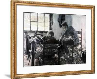 Workshop of the Shoe Maker, 1881-Max Liebermann-Framed Giclee Print