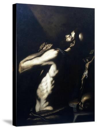 St Jerome, Late 16th-Early 17th Century-Louis Finson-Stretched Canvas Print