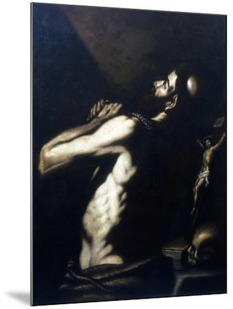 St Jerome, Late 16th-Early 17th Century-Louis Finson-Mounted Giclee Print