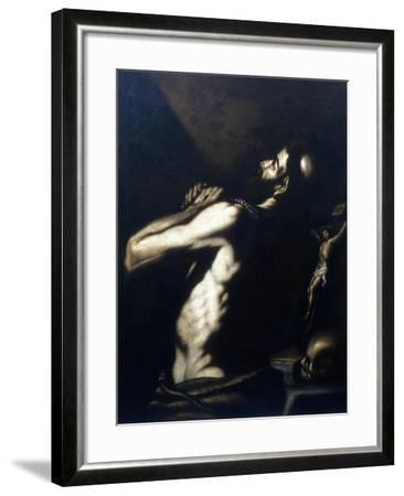 St Jerome, Late 16th-Early 17th Century-Louis Finson-Framed Giclee Print