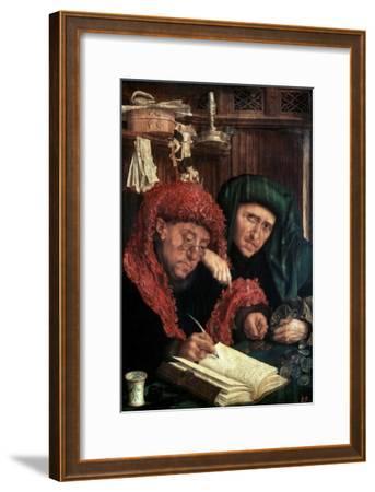 The Tax Collectors, Between 1490 and 1567-Marinus Van Reymerswaele-Framed Giclee Print