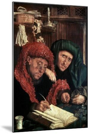 The Tax Collectors, Between 1490 and 1567-Marinus Van Reymerswaele-Mounted Giclee Print
