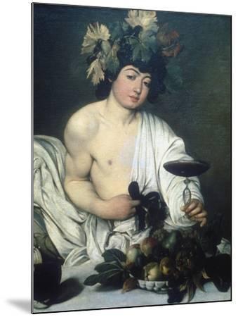 Bacchus, C1597-Caravaggio-Mounted Giclee Print