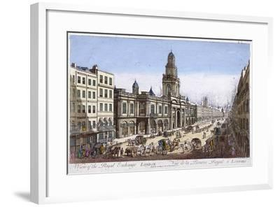 Royal Exchange (2N) Exterior, London, 1761-Mothey Lairee-Framed Giclee Print