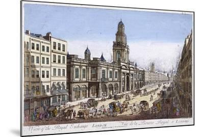 Royal Exchange (2N) Exterior, London, 1761-Mothey Lairee-Mounted Giclee Print