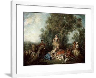 The Autumn, 1738-Nicolas Lancret-Framed Giclee Print