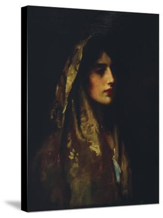 Naomi, 1914-Luke Fildes-Stretched Canvas Print