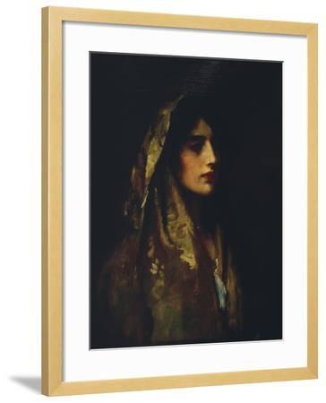 Naomi, 1914-Luke Fildes-Framed Giclee Print