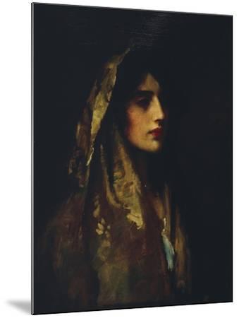Naomi, 1914-Luke Fildes-Mounted Giclee Print