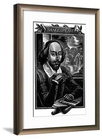 William Shakespeare, English Playwright and Poet-Mihajl Ivanovic Pikov-Framed Giclee Print