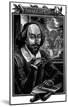 William Shakespeare, English Playwright and Poet-Mihajl Ivanovic Pikov-Mounted Giclee Print