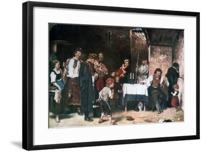 The Condemned Cell, C1864-1900-Mihaly Munkacsy-Framed Giclee Print