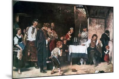 The Condemned Cell, C1864-1900-Mihaly Munkacsy-Mounted Giclee Print
