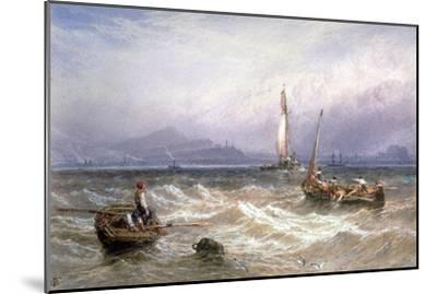 Seascape, 19th Century-Myles Birket Foster-Mounted Giclee Print